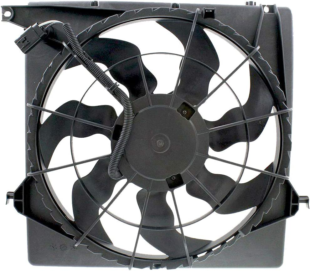 Radiator Cooling Fan Assembly For Hyundai Fits Santa FE HY3115141 ...