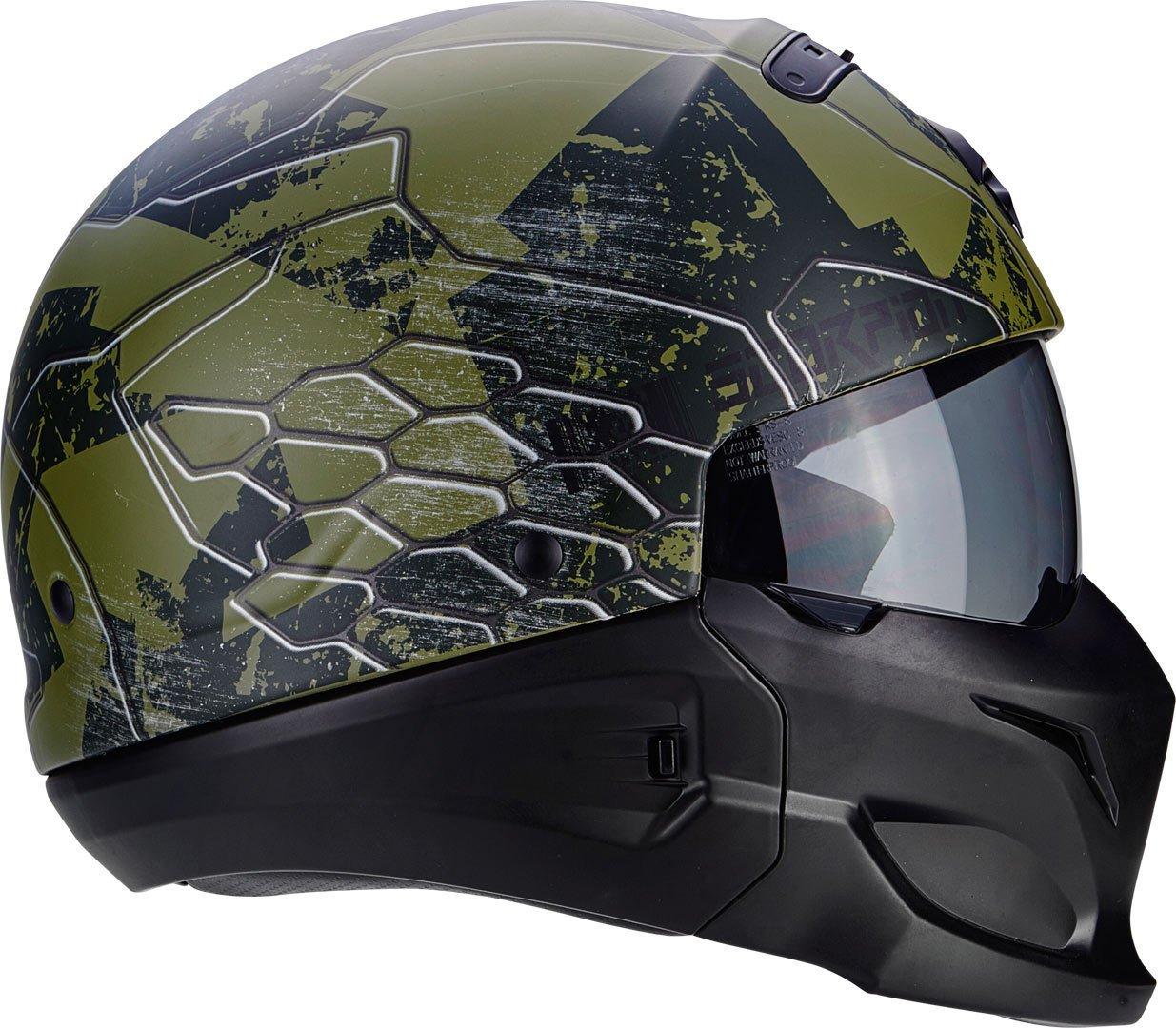 Titanium Scorpion 82-281-233-03 Motorrad Helm S