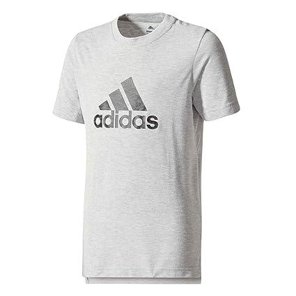 Adidas Performance T-shirt Prime Logo Gris T-shirts Manches Courtes Enfant  Multisports 1c34c61ac71