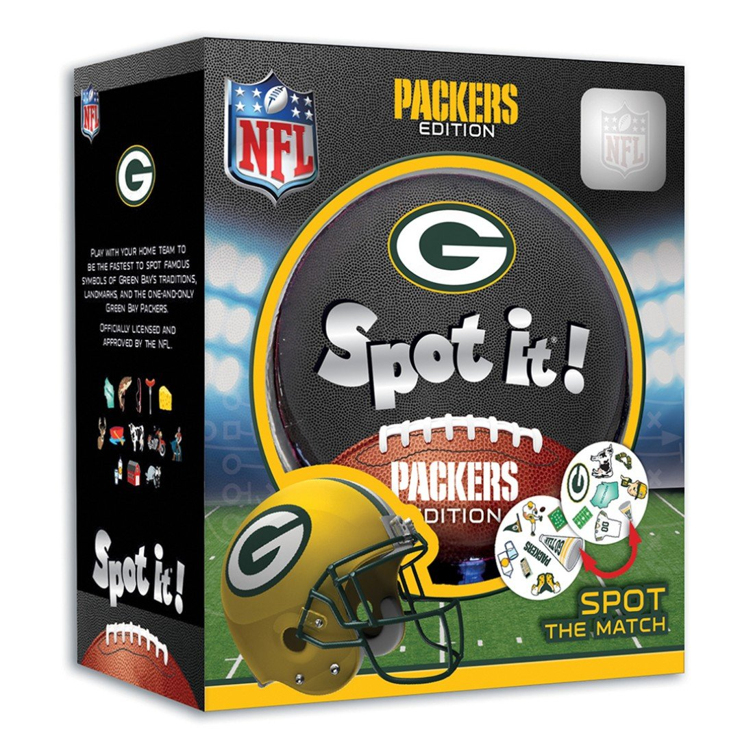 MasterPieces NFL League Version Spot It Masterpieces Puzzle Co. 41747 Accessory Consumer Accessories