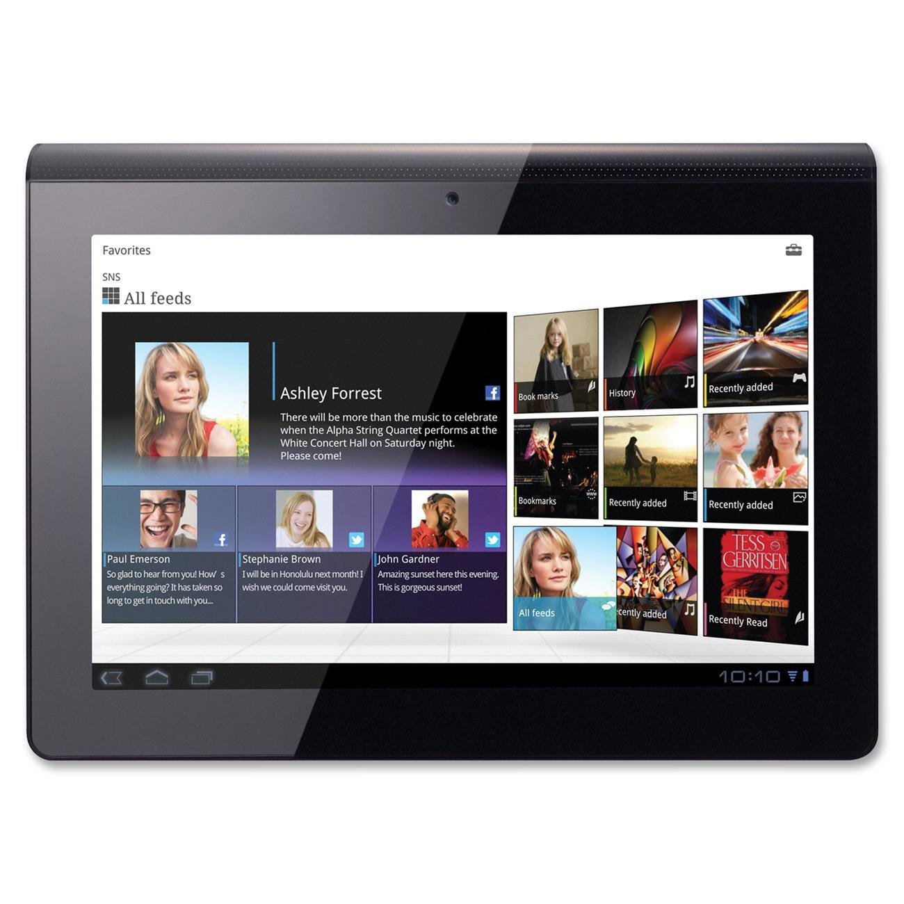 Amazon.com: Sony SGPT111US/S Wi-Fi Tablet (16GB): Computers & Accessories