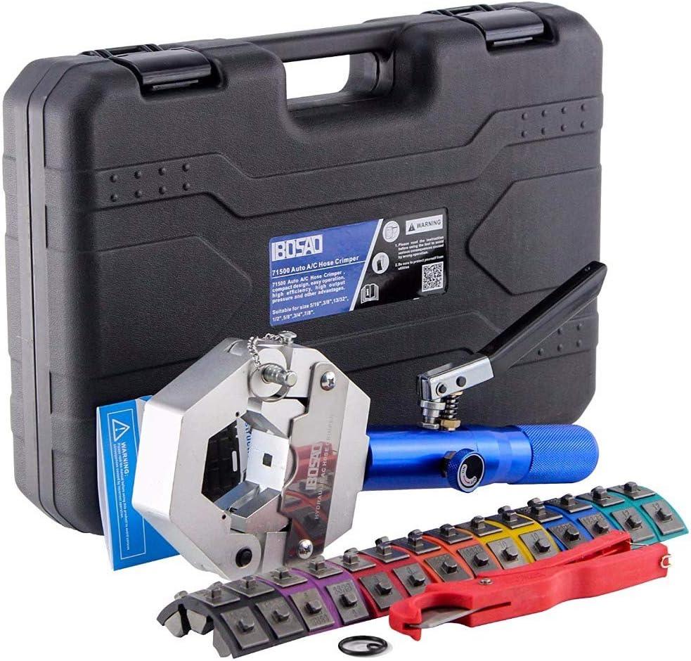 71500 A//C Hydraulic Hose Crimper Air Conditioning Repair Fit Crimping Tools