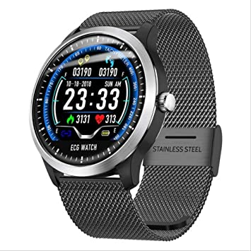 KKART PPG + ECG Smartwatch Men Ip67 Waterproof Heart Rate ...