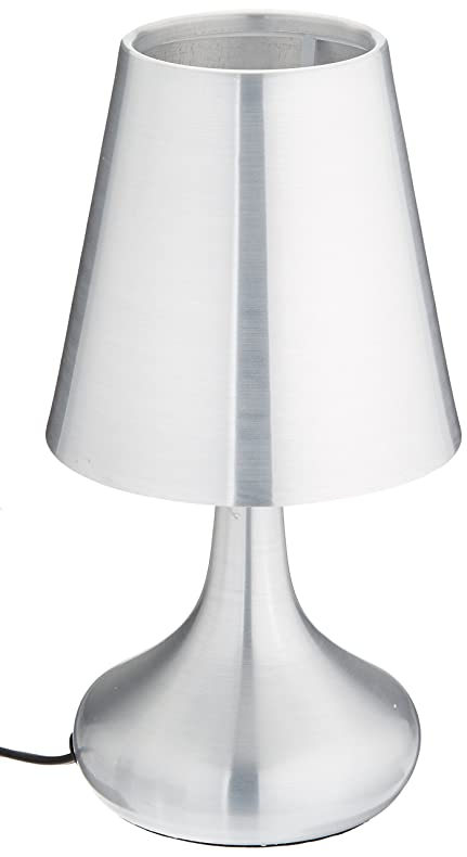 lumisource lslgenie sv genie touch lamp silver