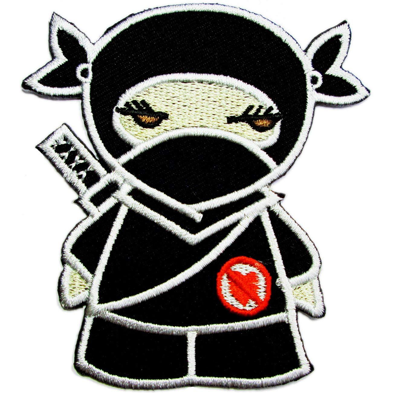 Ninja SD, Iron on Patches for Kids