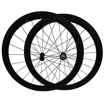 700C 50mm Clincher Carbon Road Bike Wheels Racing Bicycle Carbon Wheelsets 11S
