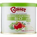 Bauer Brodo Granulare Istantaneo Vegetale Bio - 2 pezzi da 120 g [240 g]