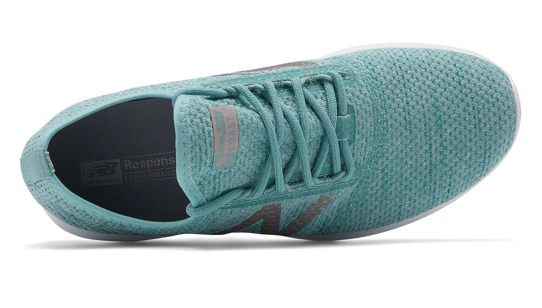 New Balance Women's Coast V4 FuelCore Running Shoe B07BL2VYXD 5.5 B(M) US|Mineral Sage/Ocean Air/Champagne Metallic