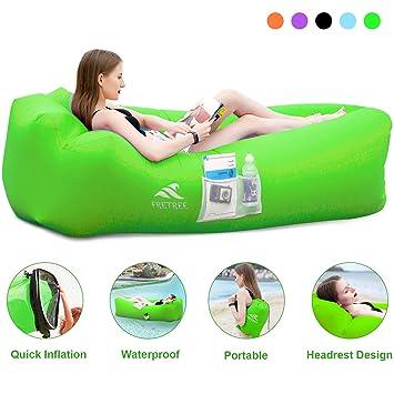 Amazon.com: FRETREE - Hamaca inflable para sofá de aire ...