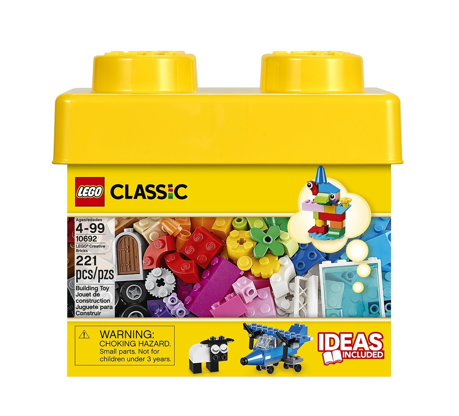 Learning Toy One Size Lego Classic Creative Bricks 10692 Building