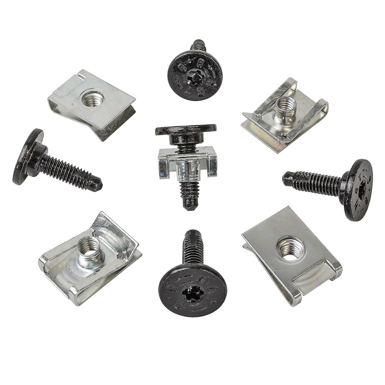 5 x set de soporte grapas + torx Tornillos de metal MYBA-S