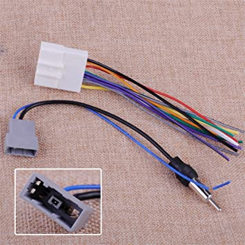 [DIAGRAM_34OR]  Amazon.com: Car Dvd Radio Install Stereo Wire Harness Cable Plugs Antenna  Adapter Fit For Nissan Altima Armada For Subaru Forester Legacy: Home  Improvement | Car Antenna Wiring For Home Use |  | Amazon.com