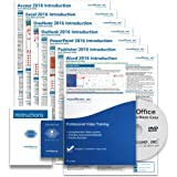 Learn Microsoft Office 2016 DELUXE CPE Training Tutorial Package- Video Lessons, PDF Instruction Manuals, Printed and…