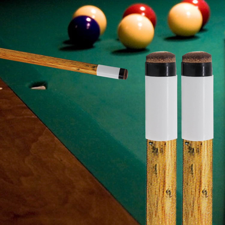 punteras atornilladas de repuesto de billar para billar marr/ón KEESIN 10 unidades 12 mm duro palo de billar