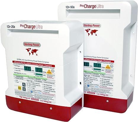 chargeur de batterie pro digital sterling