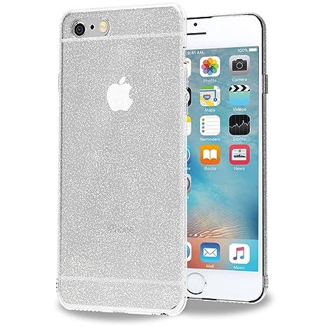 iVoler Funda Carcasa Gel Crystal Quartz para iPhone 6S Plus/iPhone 6 Plus 5.5 Pulgadas