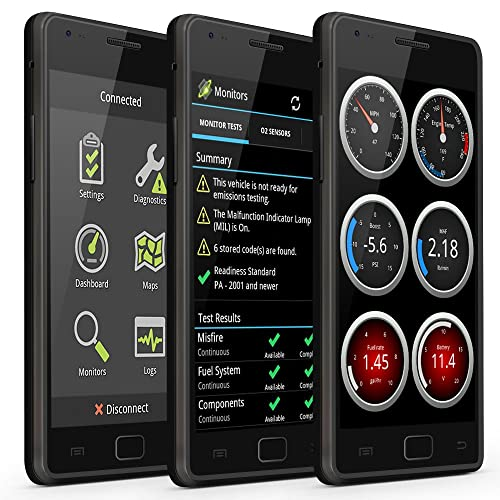 OBDLink scanner only works with Android and Windows devices and has an extensive range of compatible vehicles.