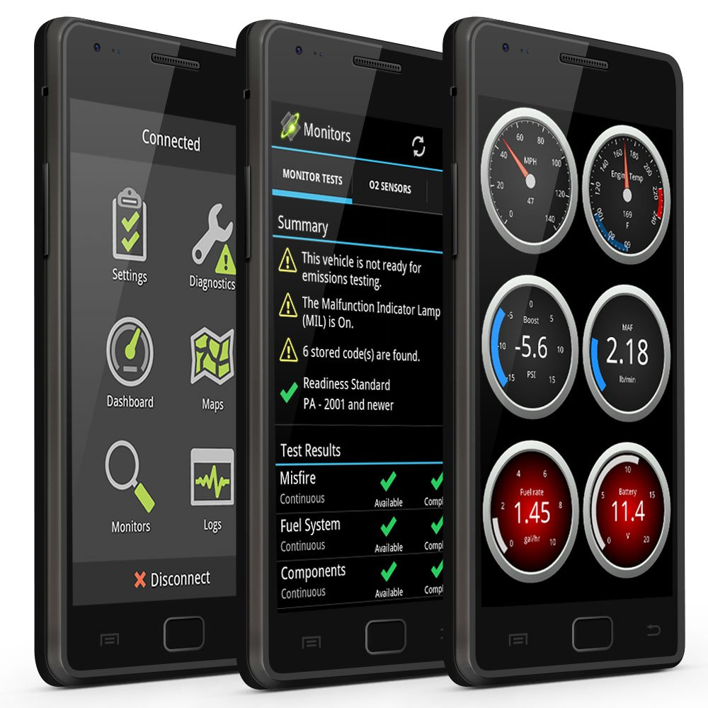 OBDLink 426101 ScanTool MX Bluetooth: Professional Grade OBD-II Automotive Scan Tool for Windows and Android - DIY Car and Truck Data and Diagnostics by OBDLink (Image #5)