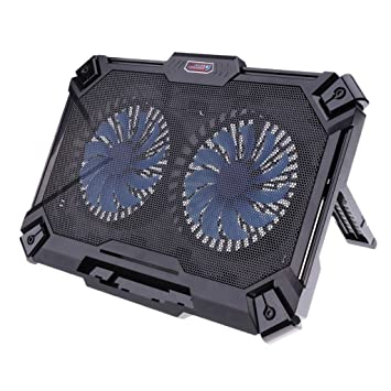 Sharplace Soporte de Refrigeración Dual Portátil Accesorio Ordenador Portátil Cámara Fotografía para Notebook: Amazon.es: Electrónica