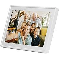 """Denver Electronics PFF-711WHITE Blanc 7"""" Écran Tactile WiFi Cadre Photos numériques - Cadres Photos numériques (17,8 cm (7""""), 1024 x 600 Pixels, IPS, JPEG, 8 Go, MicroSD (TransFlash))"""