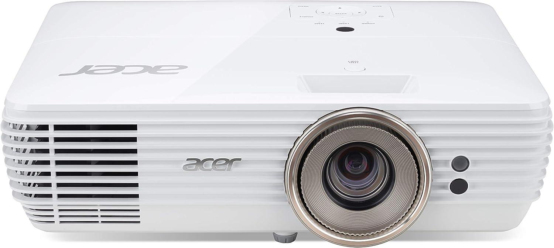 Acer V7850 Dlp Projektor Native 4k Uhd 3840 X 2160 Pixel Kontrast 1 000 000 1 2 200 Ansi Lumen Heimkino Tv Video