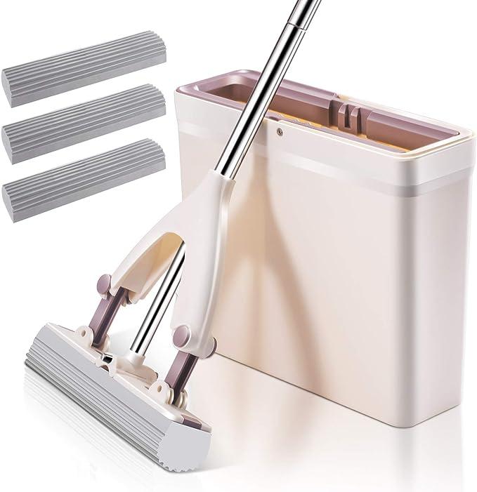Sponge Mop Heavy Duty Super Absorbent Cleaning Floor Superdry Telescopic Handle