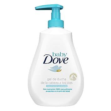 Gel de baño Baby Dove hidratación profunda de la cabeza a los pies 400ml - Pack de 6: 2400ml: Amazon.es: Belleza