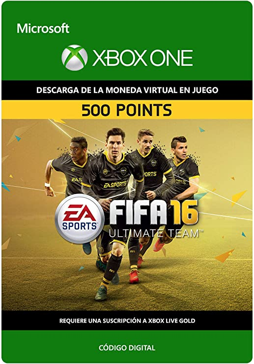FIFA 16: 500 FIFA Points | Xbox One - Código de descarga: Amazon ...