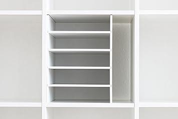 Inwona Ikea Kallax Expedit Regal Din A4 Einsatz Ablage Papierfach Papierregal Postfach Sortierfach Papier Fach Aufbewahrung Dokumentenablage