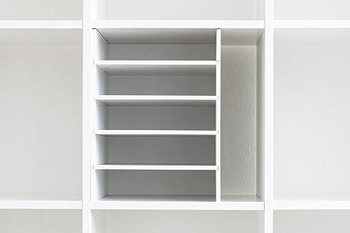 Postfach Sortiereinsatz Regaleinsatz für Ikea Kallax / Expedit ...