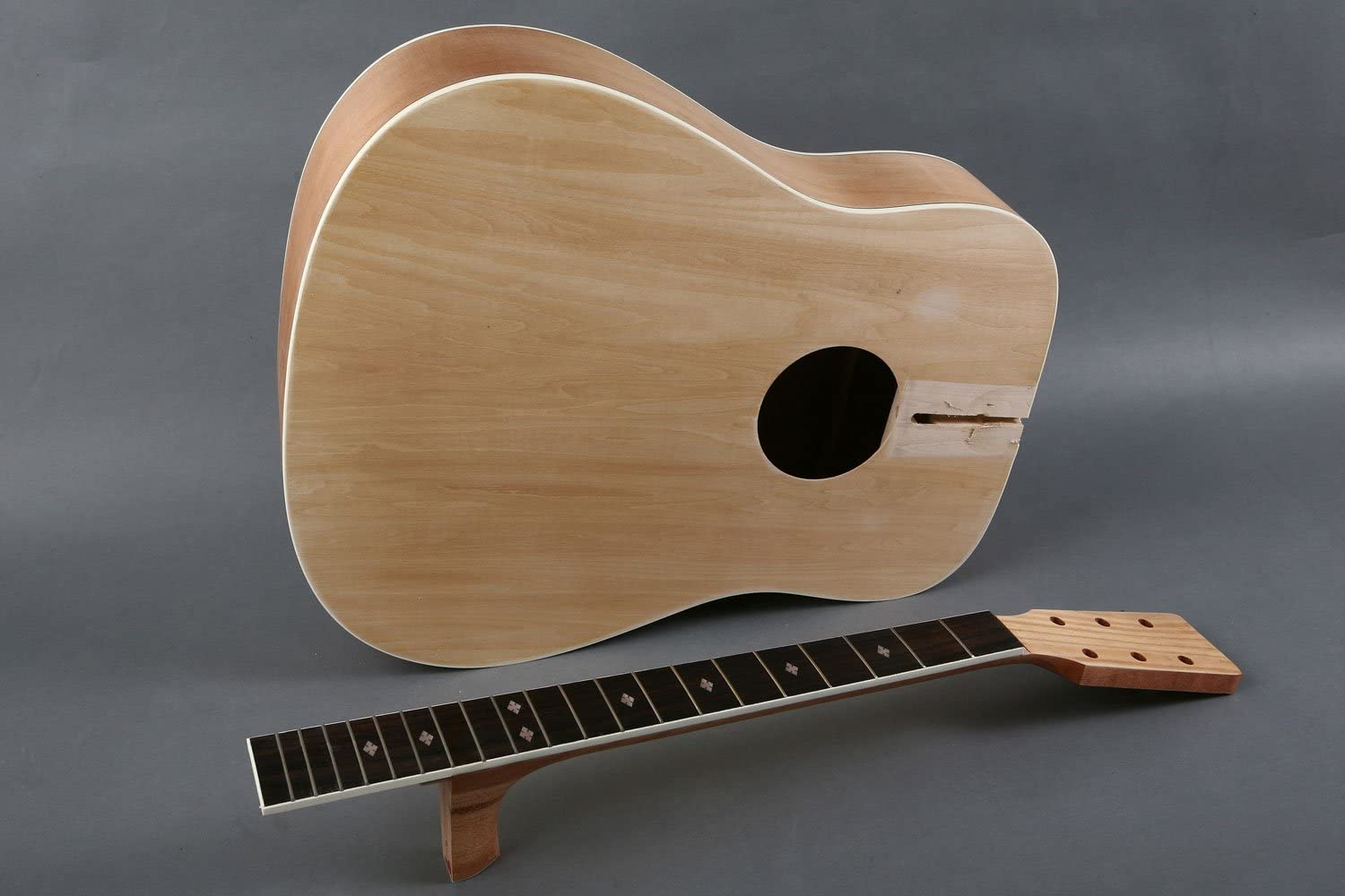 Diy Builder Acoustic Guitar Kit Customize And Make Your Own Amazon Co Uk Musical Instruments