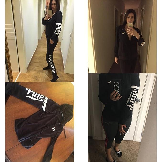 JESRKAS Love Pink Hoodies Women Pullover Sweatshirt Tumblr Ariana Grande BTS Kpop Christmas Moletom Felpa Sudadera Oversized at Amazon Womens Clothing ...