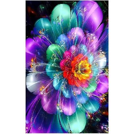 5D DIY Diamant Malerei Blume Blumenstickerei Kreuz Handwerk Stitch Home Decor
