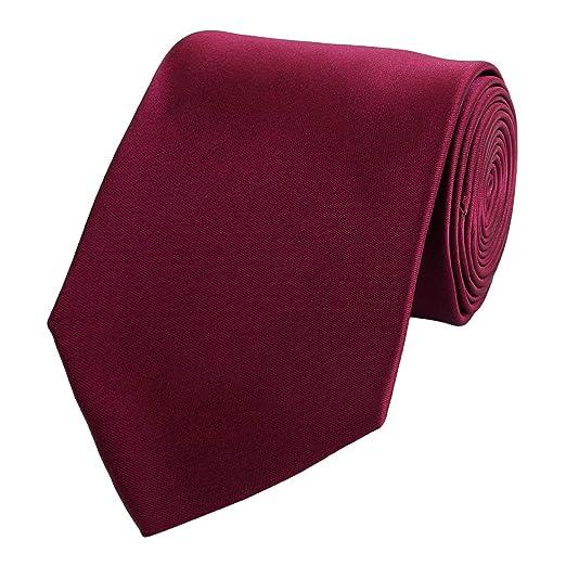 Fabio Farini - corbata simple y elegante en un solo color en ...