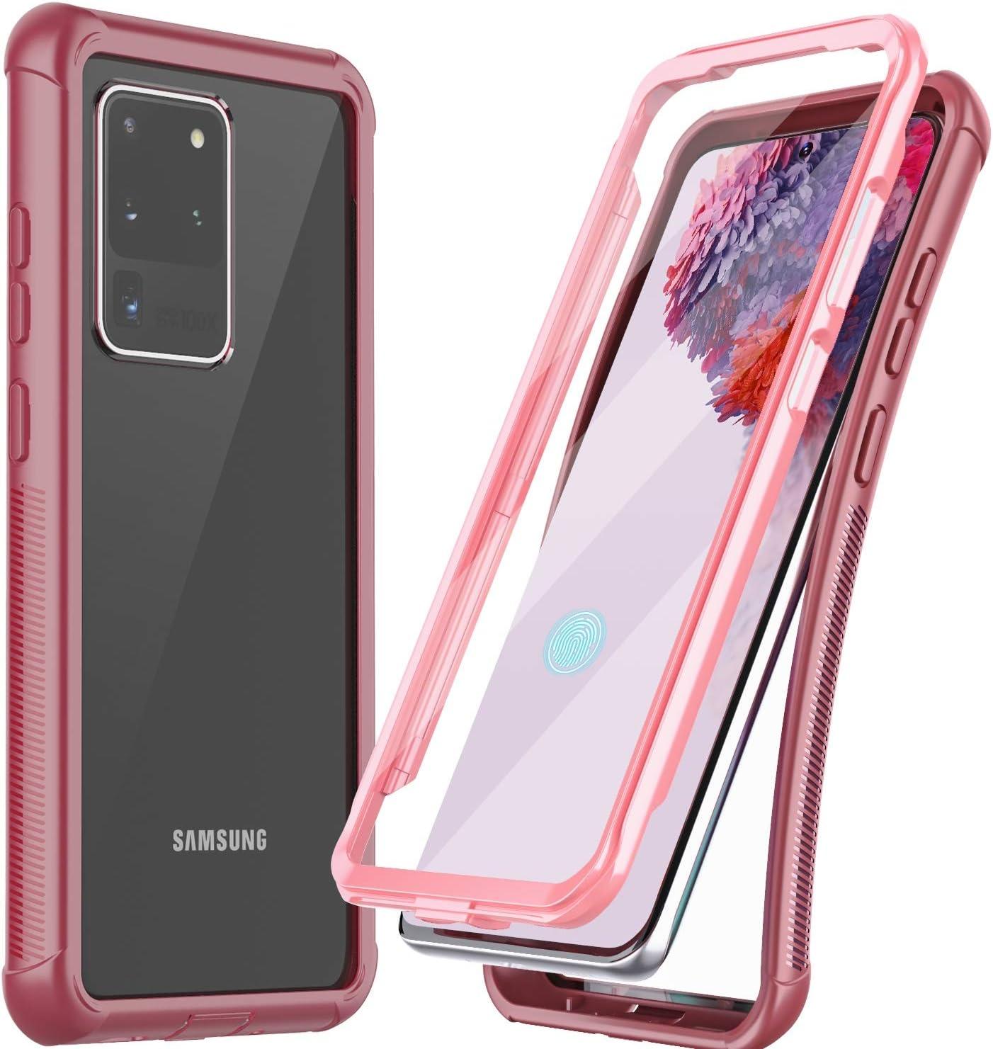 Funda Con Protector de Pantalla Samsung Galaxy S20 Ultra 5G