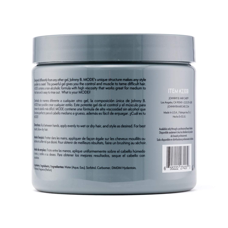 Amazon Com Johnny B Mode Styling Gel 16 Ounce Premium Beauty