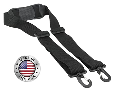 105d7419ef18 Made In USA Black Poly Plastic Hardware Webbing Replacement Travel Luggage  Bag Strap 1.5
