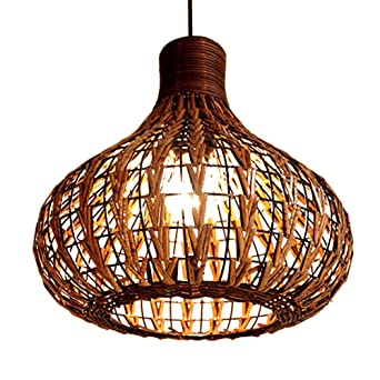 Weave wicker pendant lamp industrial pendant hanging lights weave wicker pendant lamp industrial pendant hanging lights chandeliers ceiling lamp droplight mozeypictures Image collections