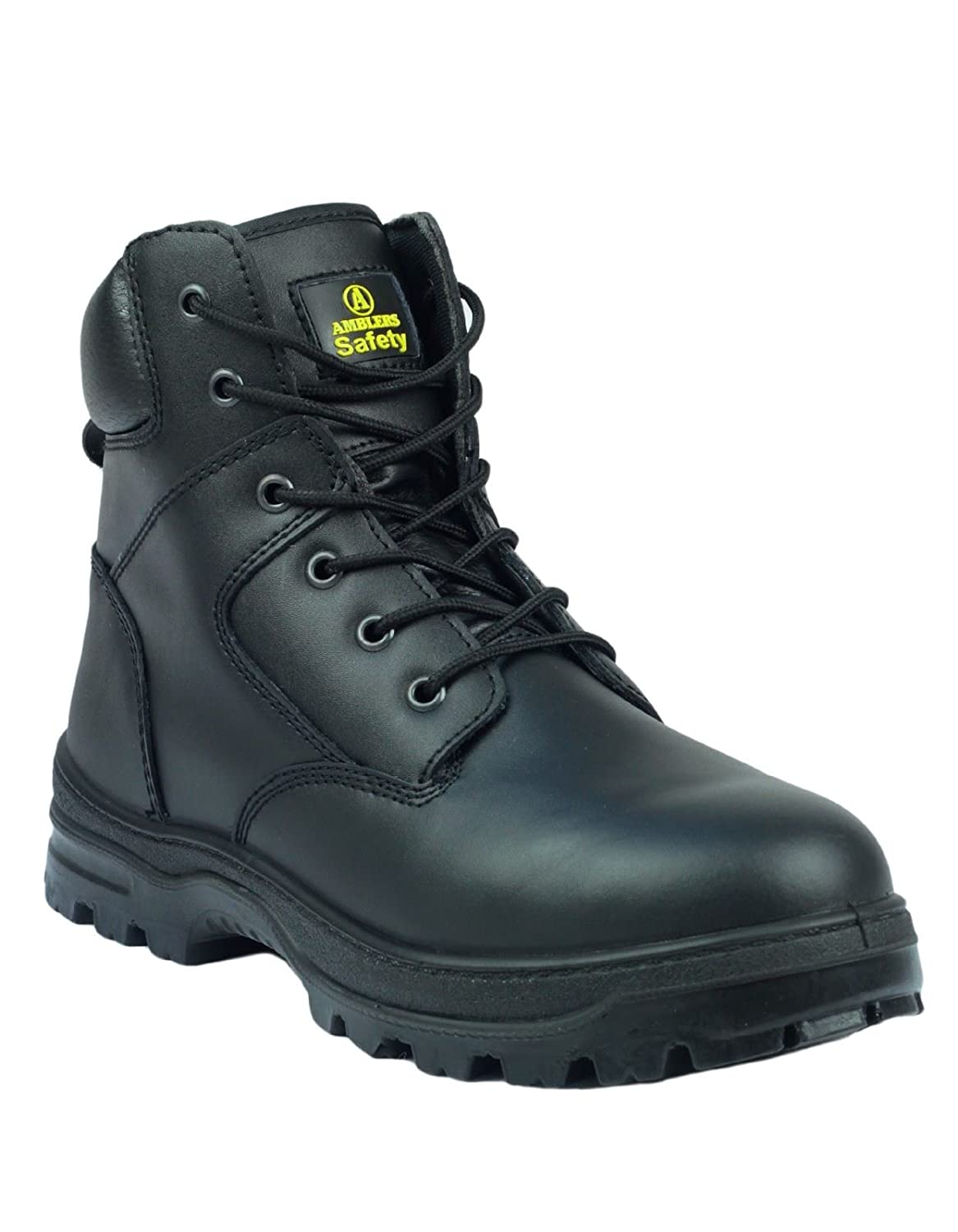 Amblers Steel FS84 Mens Safety Boots Textile Leather PU Lace