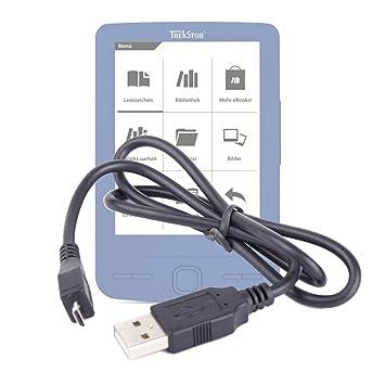 Cable de carga y sincronización Mini-USB USB TrekStor para eBook ...