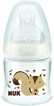 NUK Mamadeira Fc Newborn 90Ml S1 - Neutral, Branco