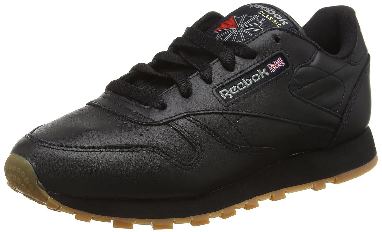Reebok Cl Lthr, Zapatillas para Mujer 37.5 EU|Negro (Int / Black / Gum)