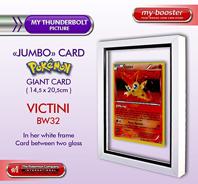 Frame within two glasses with jumbo giant VICTINI BW32 French ...