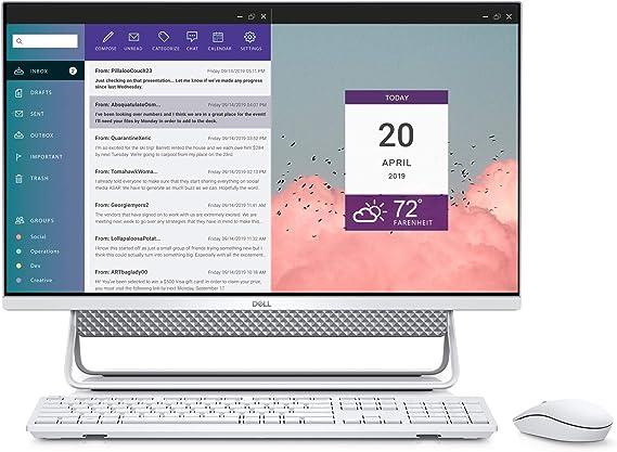 Amazon.com: DELL Inspiron 7790- 27 Inch All In One FHD Touch, Intel Core i7, 16GB Memory, 512GB Solid State Drive + 1TB, Windows 10 Home (Latest Model) - Silver: Computers & Accessories