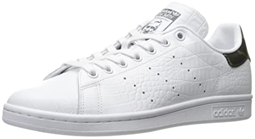 premium selection fd78e bff84 adidas Originals Men s Stan Smith Fashion Running Shoe, White Black 1, (7 M