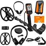 Quest Q40 Metal Detector with 11x9 TurboD Waterproof Search Coil
