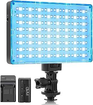 GVM RGB LED Full Color Camera Video Lights