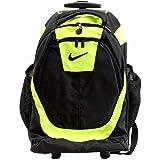 Nike Accessories Rolling Laptop Backpack (Black/Volt (982))