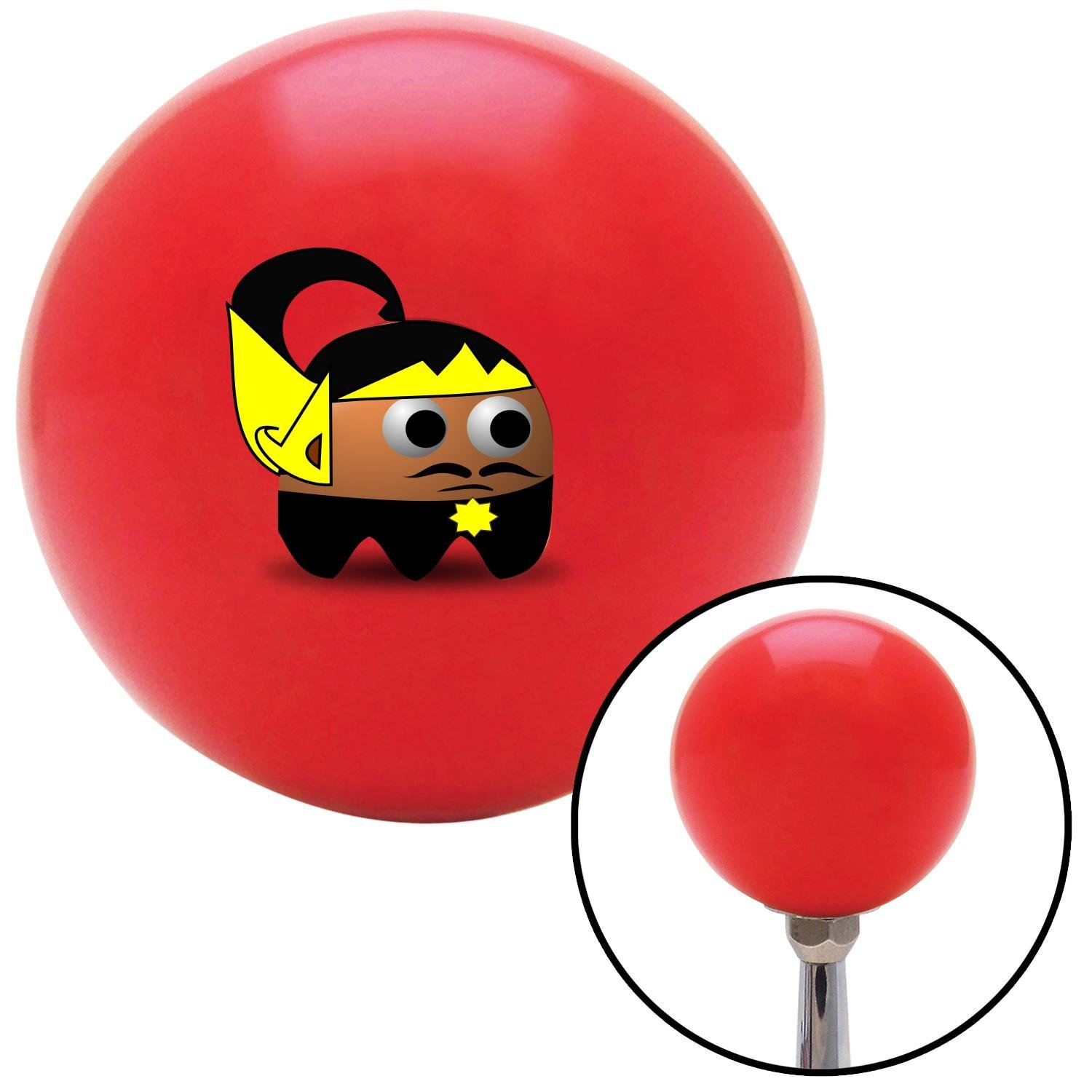 Indonesian Ghost American Shifter 94908 Red Shift Knob with M16 x 1.5 Insert