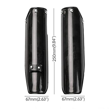 Fork Fenders For UP and Down Front Forks Guards Plastics Covers Pit Dirt Bike 1